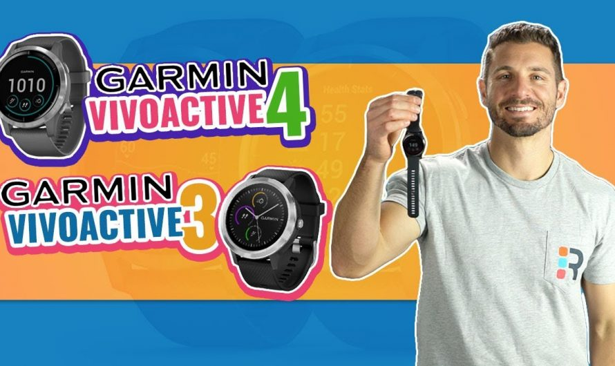 Garmin vivoactive 4 vs 3 | Fitness Smartwatch Review (NEW)