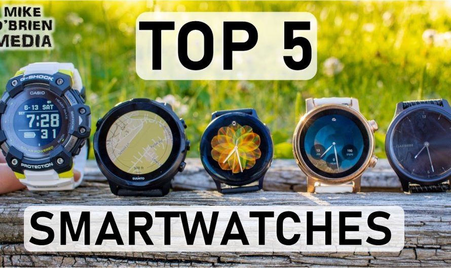 TOP 5 SMARTWATCHES IN 2020 [by Category]