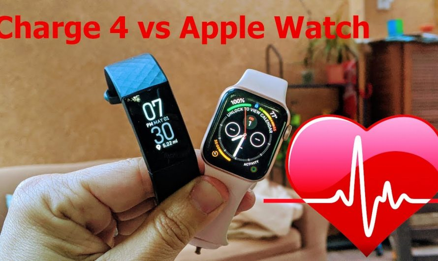 Comparing heart rate between Fitbit Charge 4 and Apple Watch Series 4